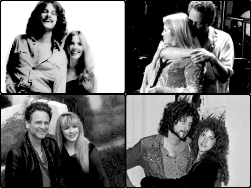 """Sometimes he takes me back to 1971 - he's still thin and pretty gorgeous. Often, I think we live in a parallel universe, where we're not sure if it is 1973 or 2003."" Stevie Nicks, US Weekly, 2003"