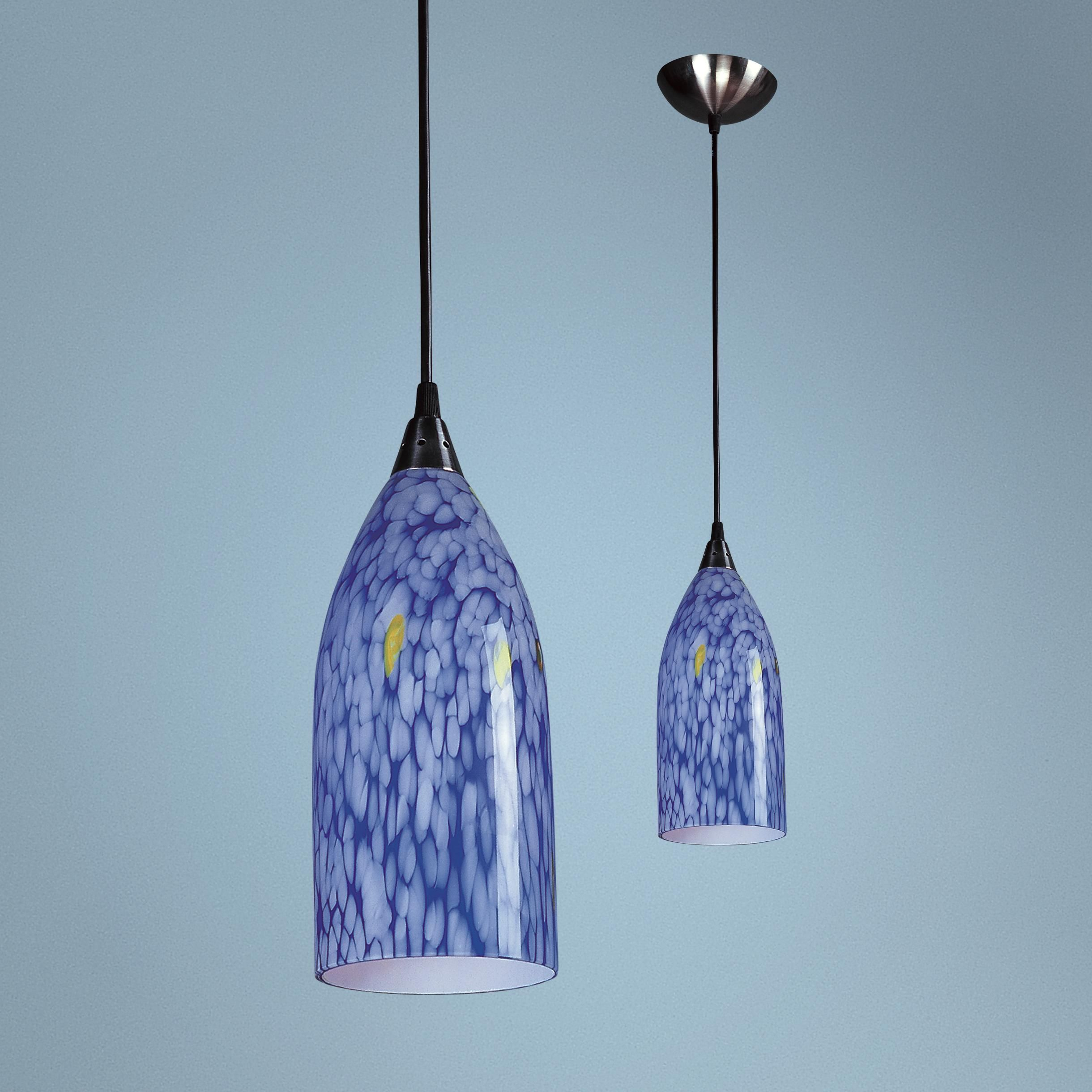 Verona collection blue mini pendant chandelier kitchen pinterest