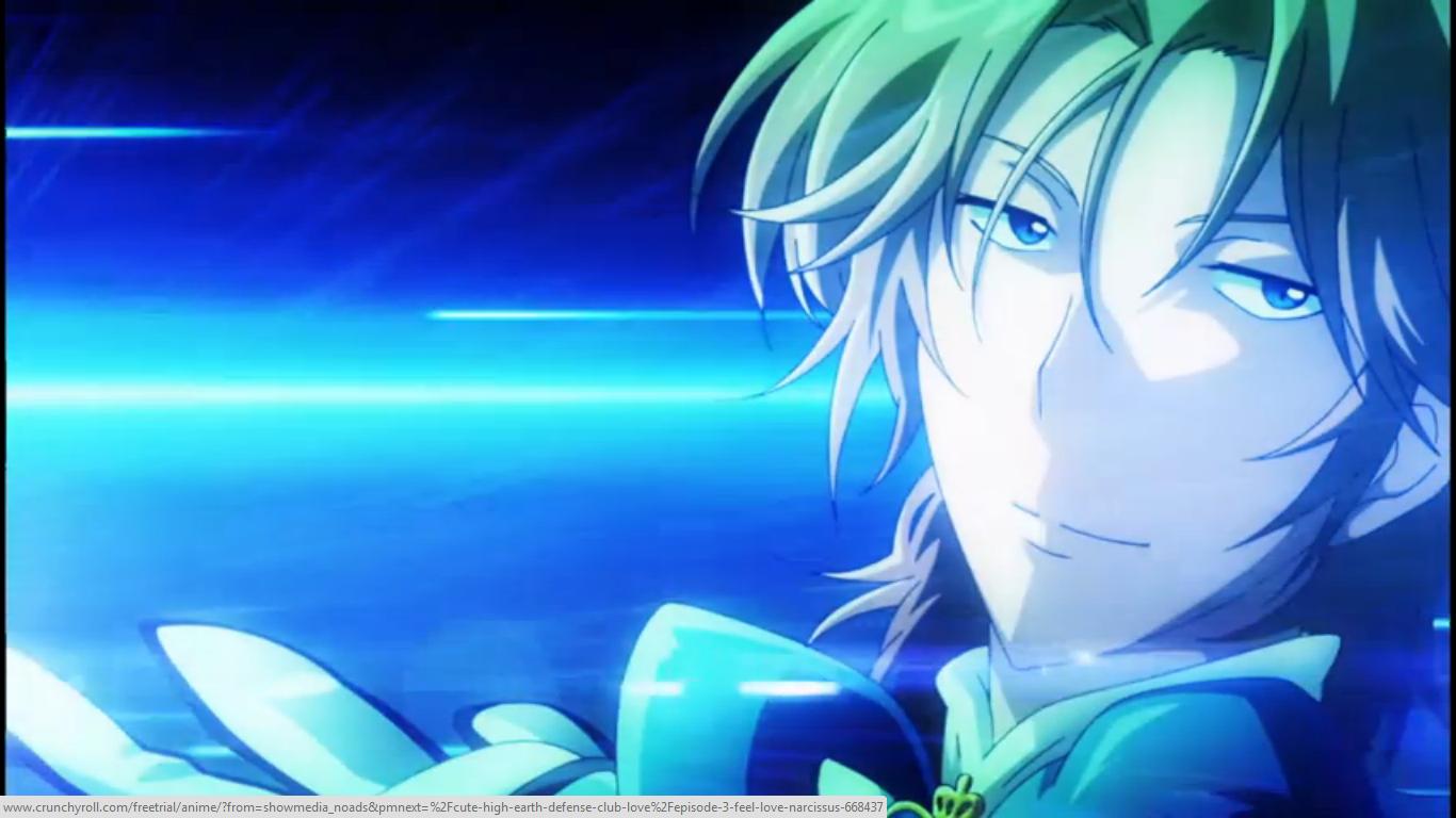 Cute High Earth Defense Club LOVE! Magical boy anime