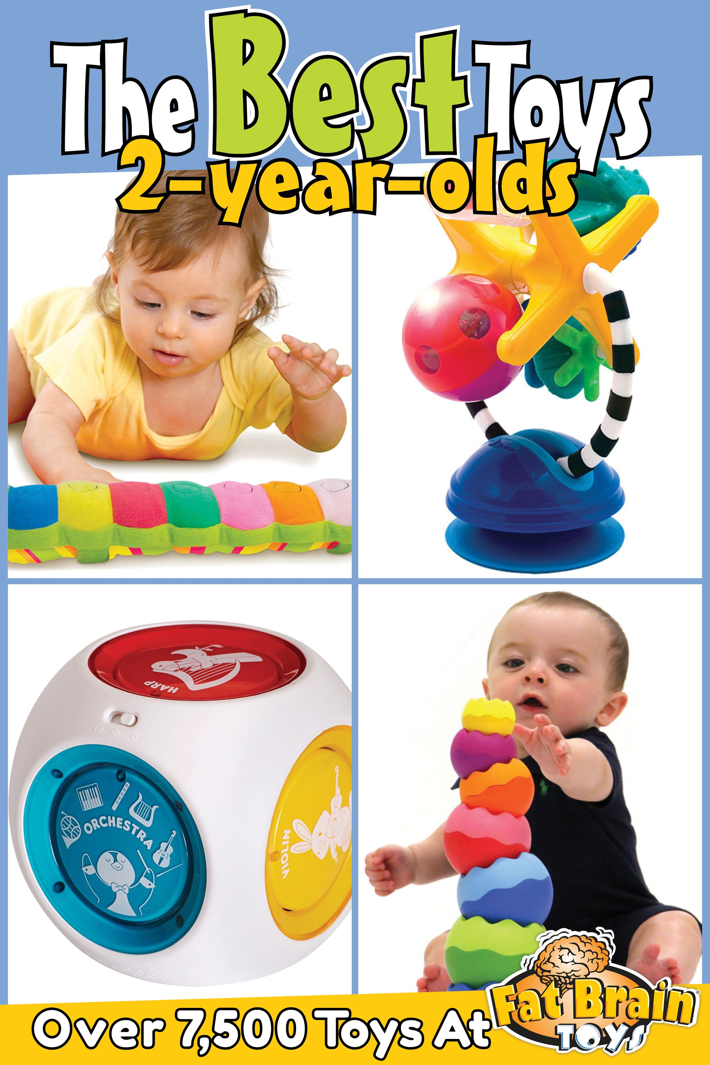The Best Toys on the Planet for Two Year Olds