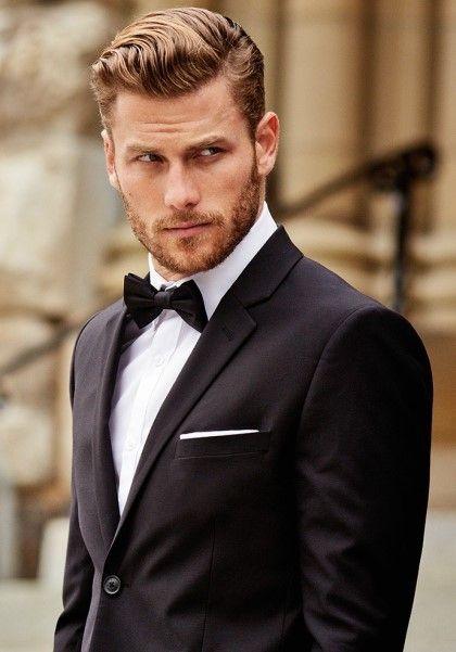 Men S Rules For Black Tie Hair Pinte