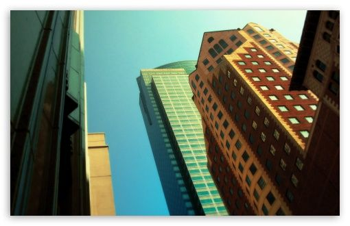 Colored Buildings wallpaper