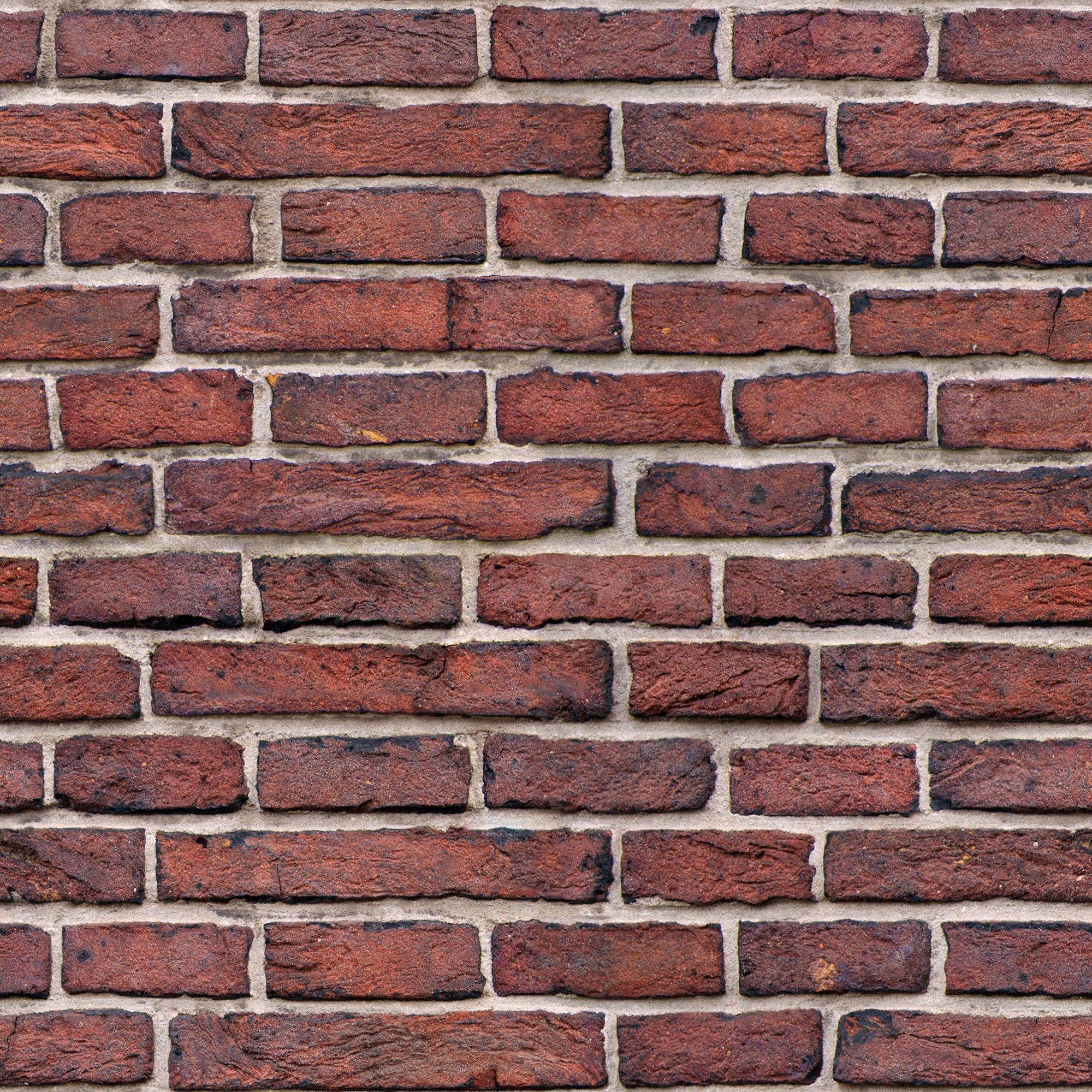 Dark red brick wall seamless texture | Texture | Pinterest ...