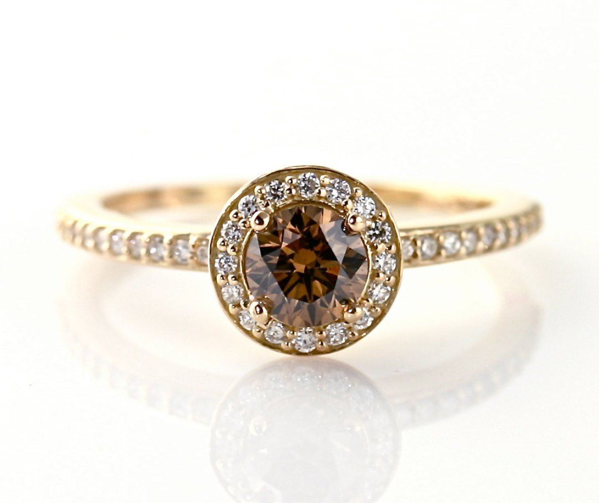 chocolate diamond engagement rings beautiful or tasteless if youre thinking about buying - Chocolate Diamond Wedding Ring