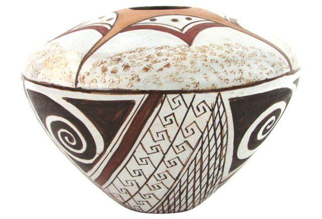 Hopi Pot by Paul Humphrey Jr.