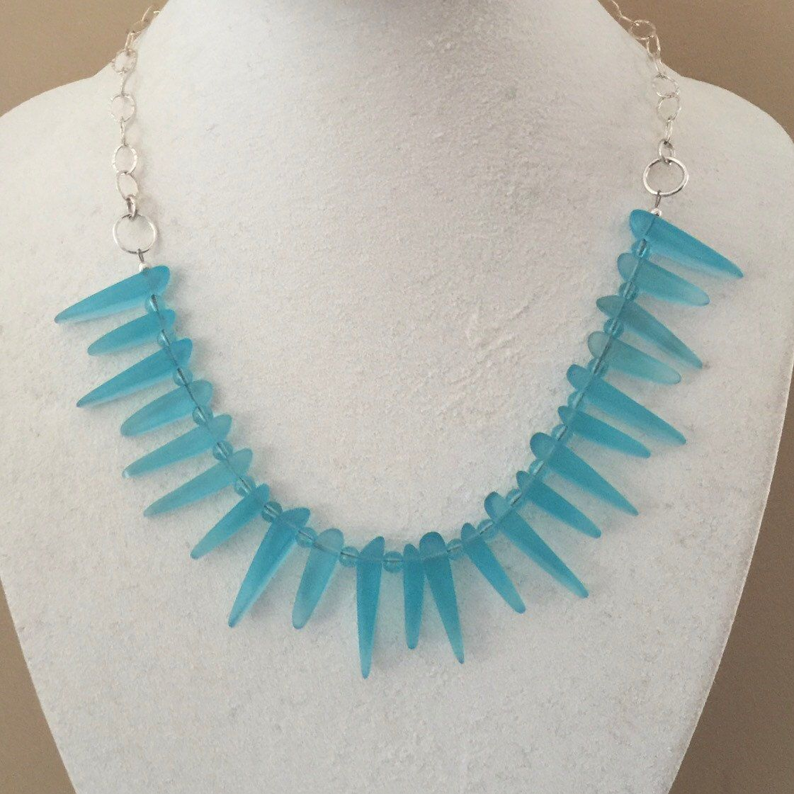 Beautiful Blue Sea Glass