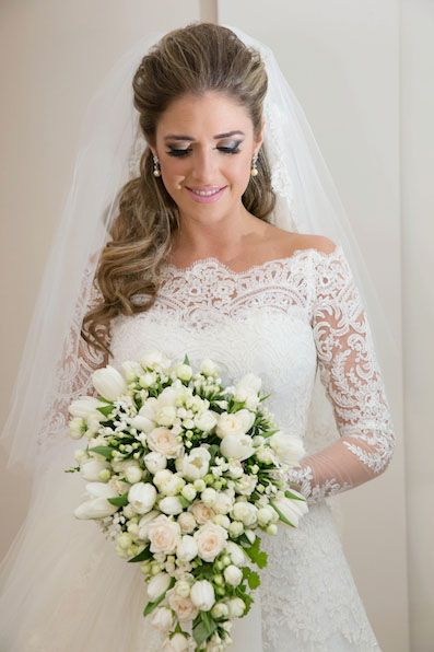 Wedding Hairstyles for Long Hair Brides | Tis the Season | Pinterest ...
