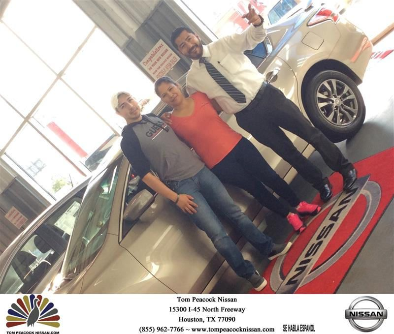 congratulations glenda on your #nissan #altima from angela rendon at