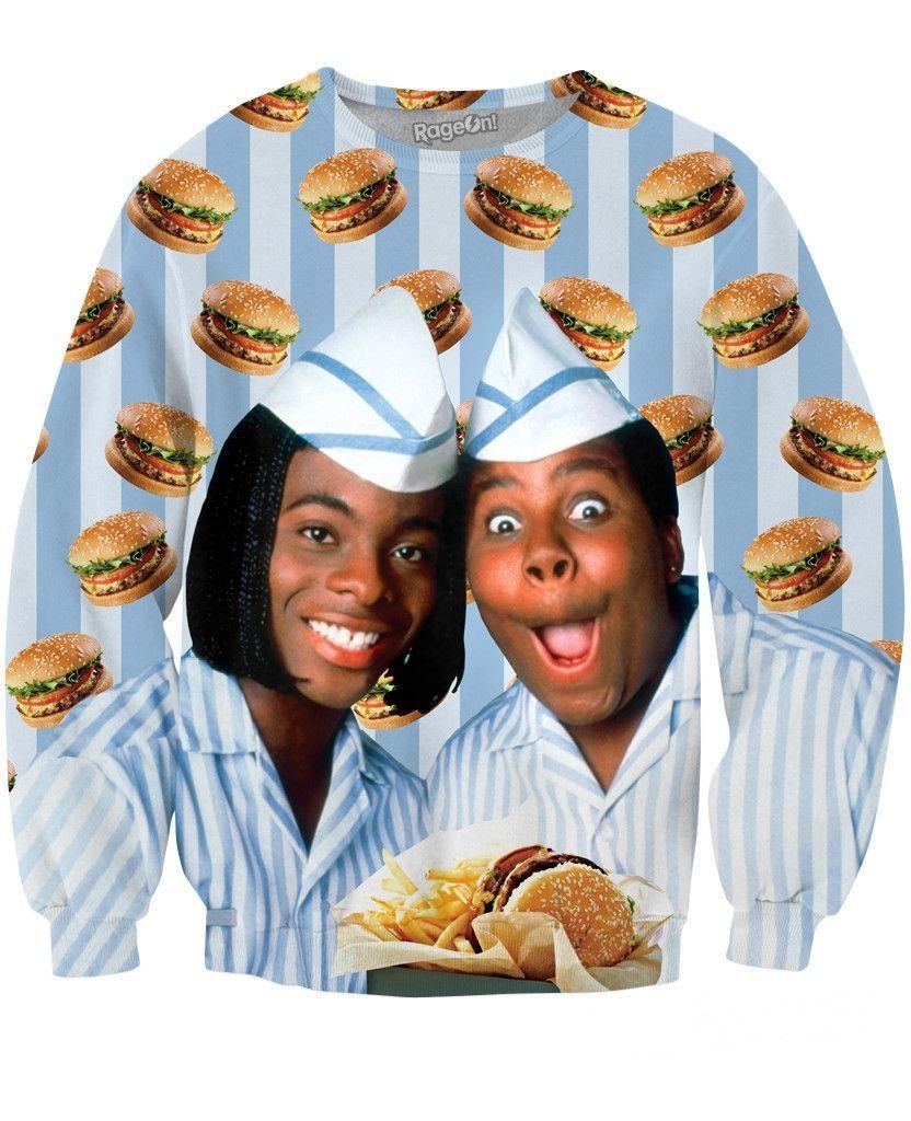 Good Burger Crewneck Sweatshirt | Welcome to good burger ...Kel Mitchell Waka Flocka