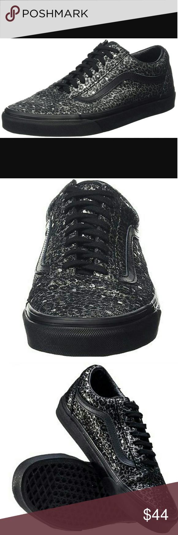 31c4f95947a724 New Vans Old Skool Metallic Leopard Sneakers New Unisex Vans Old Skool  Metallic Leopard Sneakers. Men s Size 7 Women s size 8.5. The Vans classic  skate shoe ...