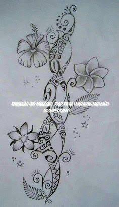 89fbceb3e Image result for maori flower tattoo designs #hawaiiantattoos ...
