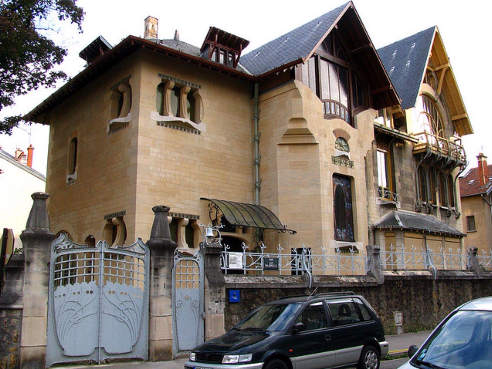 The Villa Majorelle (1901-1902) Nancy, France / architectes: Henri Sauvage avec Lucien Weissenburger / http://www.flickriver.com/photos/18857561@N06/2861026710/