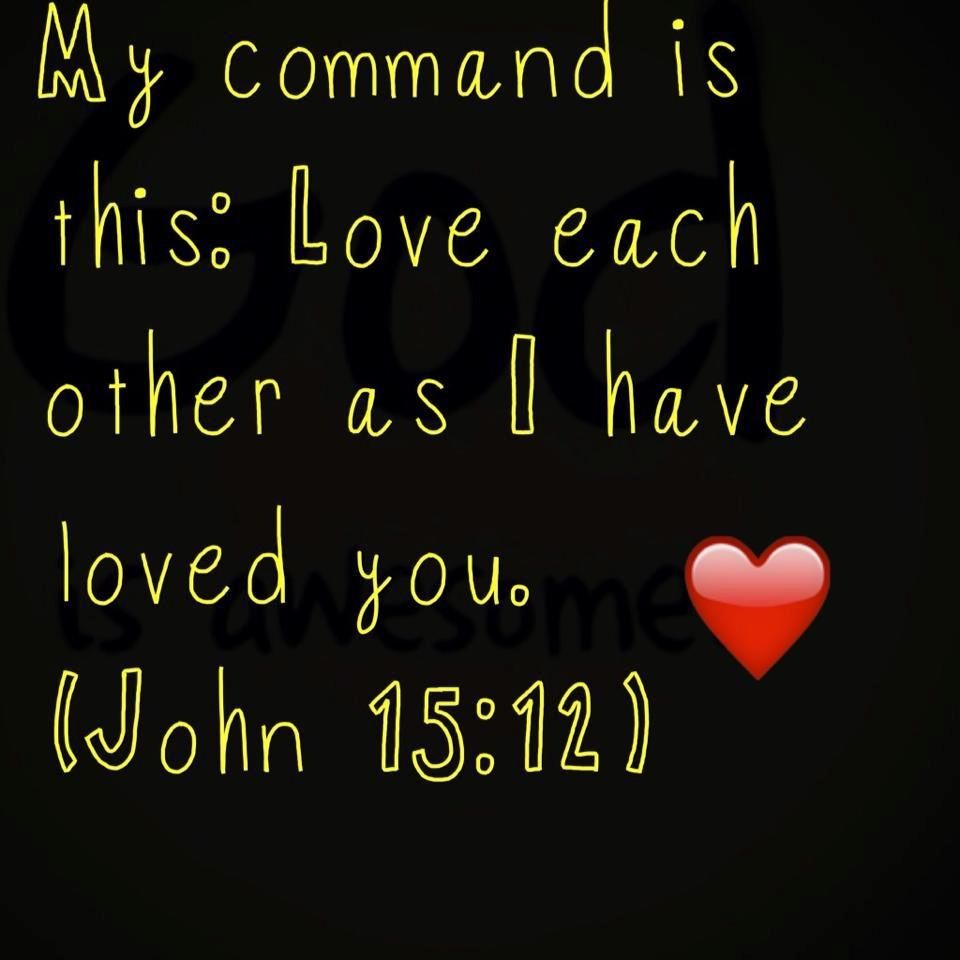 Unconditional Love Quotes From The Bible John 1312  The Bible  Pinterest  John 13 Verses And Bible