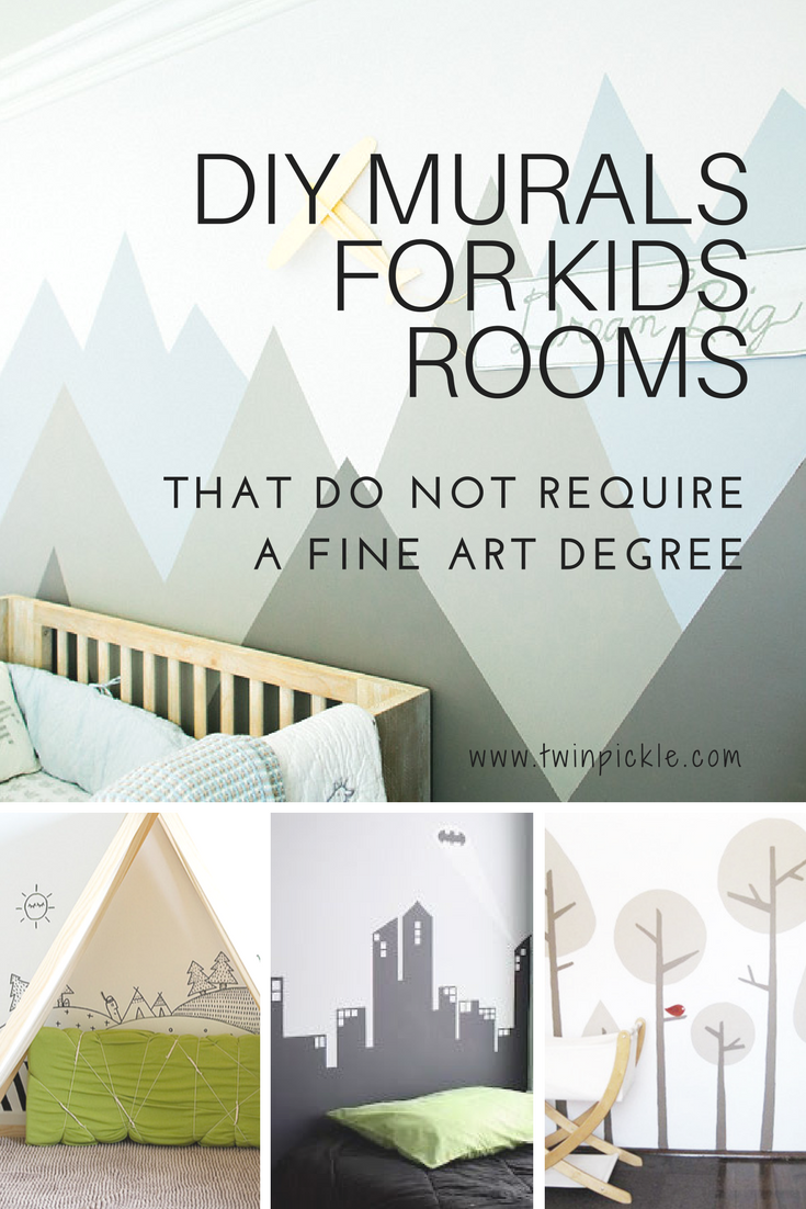 DIY Murals for Kids Rooms That Do Not Require a Fine Art Degree ...