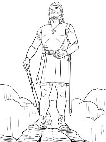 Leif Erikson Coloring Page Leif Erikson Coloring Pages Free