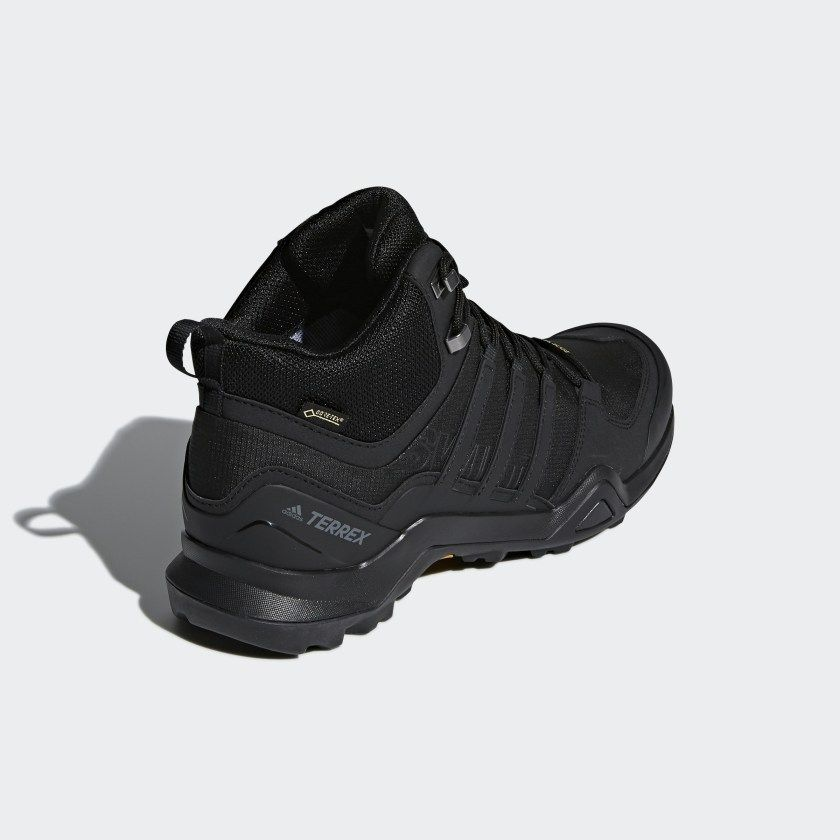 sextante Disparates Hermana  adidas Terrex Swift R2 Mid GORE-TEX Hiking Shoes - Black | adidas US in  2020 | Boots, Hiking shoes, Shoes