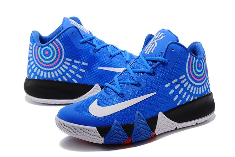 9e0510f730b7 2017-2018 Newest And Cheapest New Kyrie Irving Shoes 2017 Kyrie 4 Photo  Blue White