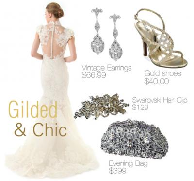 Glided & Chic. www.Tradesy.com. (3/12/13)