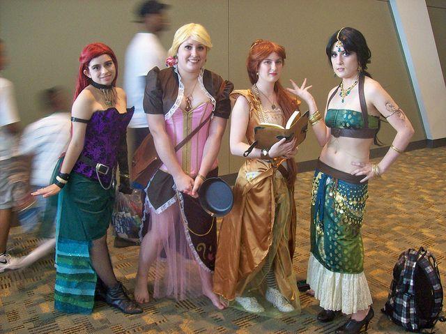 Steampunk Disney Princess Cosplay