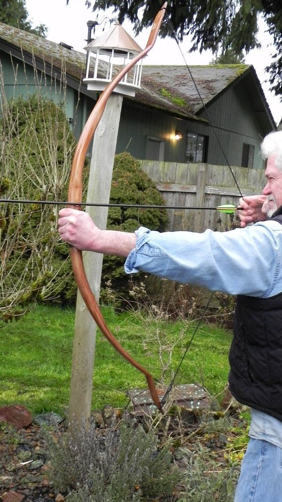 Archery Indian Bow The Apache Power , 56 in 50-55 lb Depends on Draw