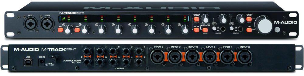 M Audio M Track Eight High Resolution Usb Audio Interface Brand