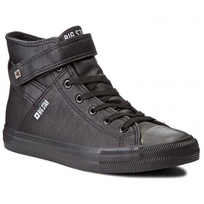 Trampki Big Star Y174020 Black Big Star Top Sneakers Black
