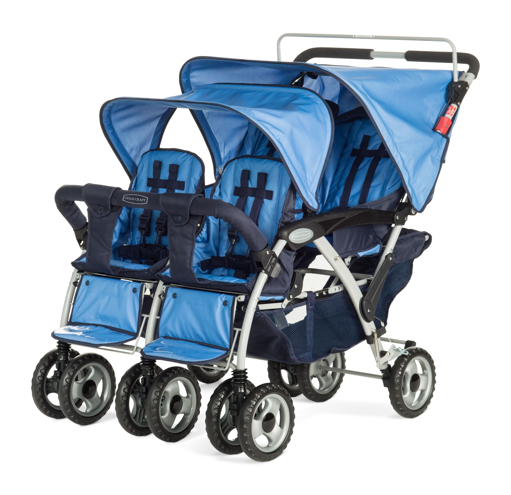 Child Craft Sport Quad Stroller Blue, Baby Strollers