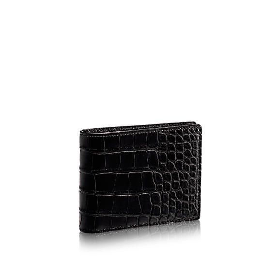 01f9b52e5b33 Multiple Wallet Crocodile Mat - Small Leather Goods | LOUIS VUITTON ...