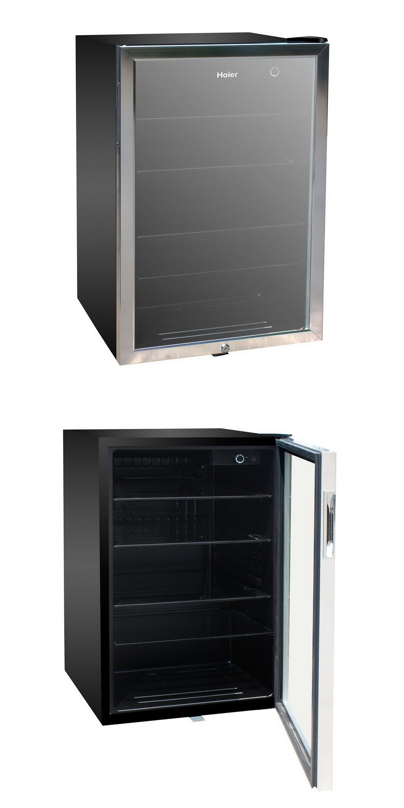 Exceptionnel Mini Fridges 71262: Haier 150 Can Beverage Mini Fridge Refrigerator Glass  Door Cooler  U003e BUY IT NOW ONLY: $249.9 On EBay!