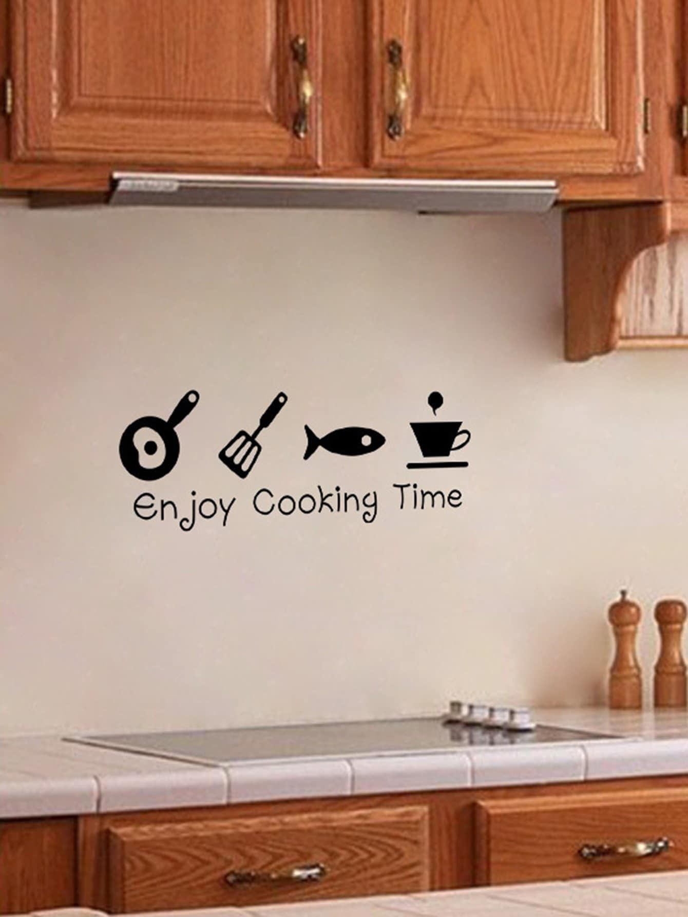 Cartoon Kitchen Wall Sticker Kitchen Wall Art Stickers Diy Wall