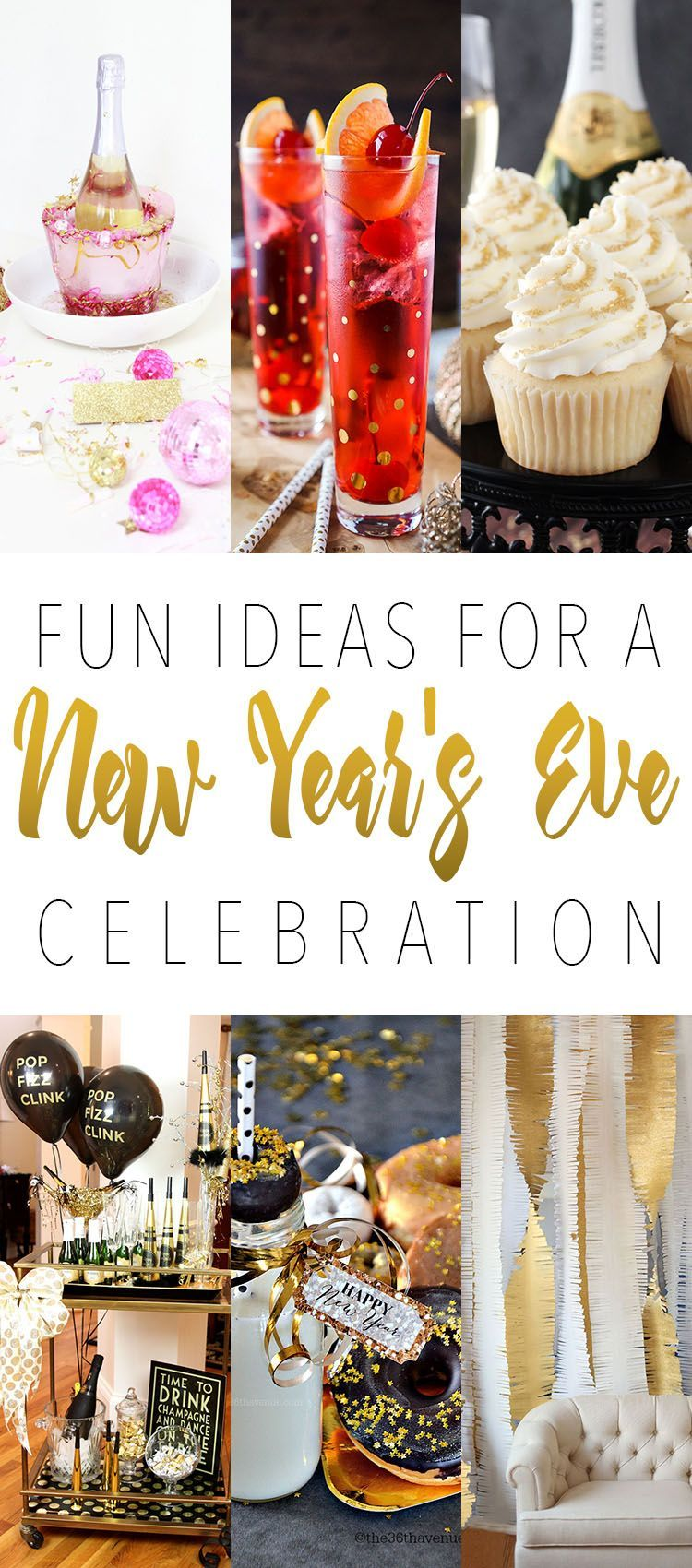 Fun Ideas For A New Year\'s Eve Celebration! Great ideas that will ...