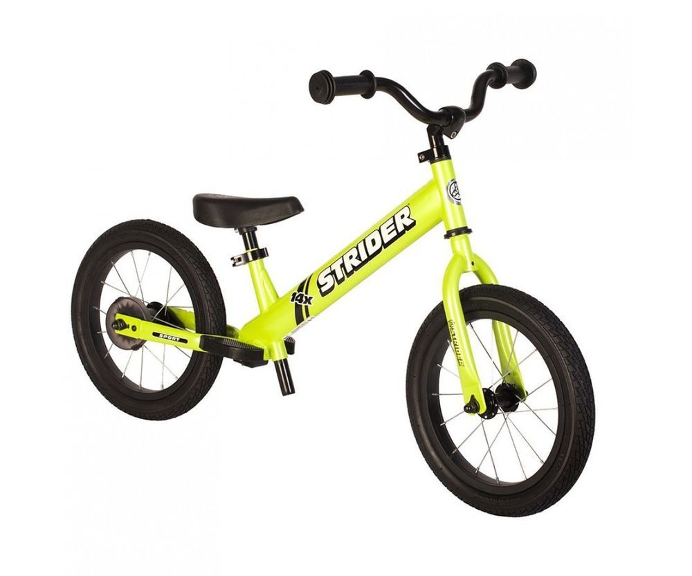 Strider 14x Sport 2 In 1 Balance Bike W Pedal Kit Kids Learn To