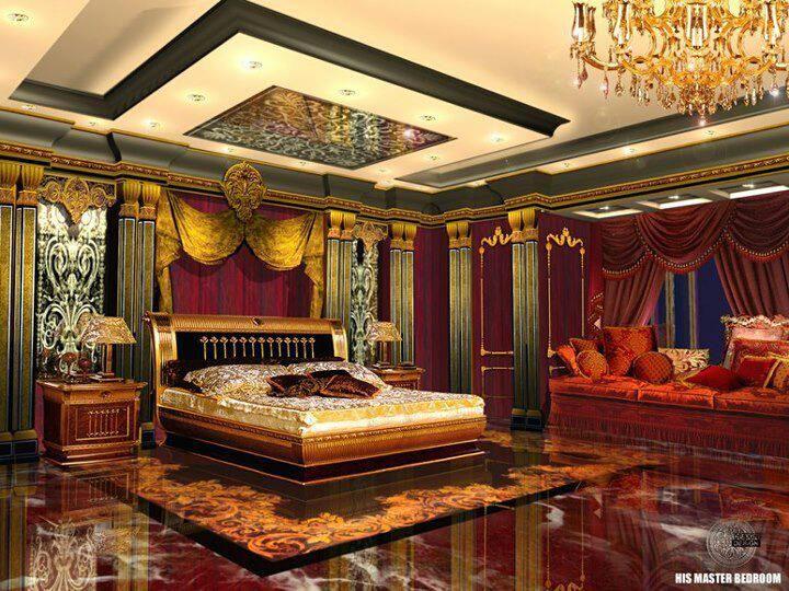 Luxury Royal Bedroom Luxurious Bedrooms Cozy Bedroom Design