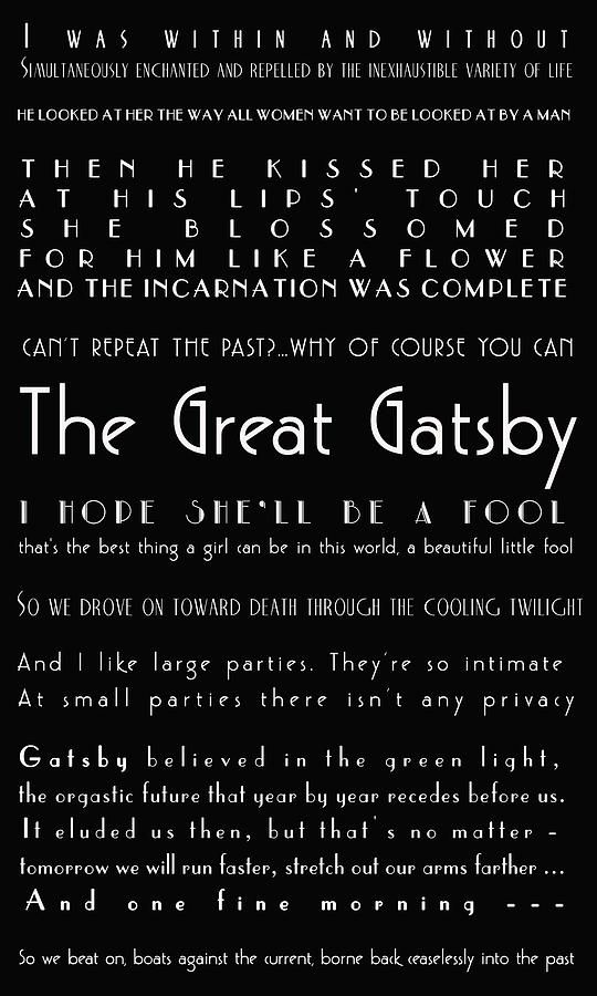 Quotes From The Great Gatsby Delectable The Great Gatsby Quotes Photographgeorgia Fowler  The Great .