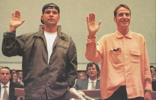 #PearlJam #JeffAment #StoneGossard #TicketBastard Heh. Court.