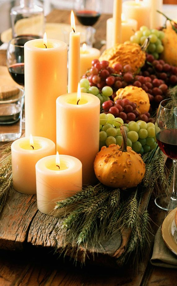 Einfache Herbstdeko Tisch wunderschöne und einfache herbstdeko basteln | kreativ deko