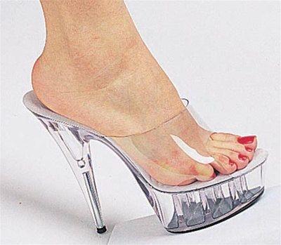 High Heel Platform Slide | Heels