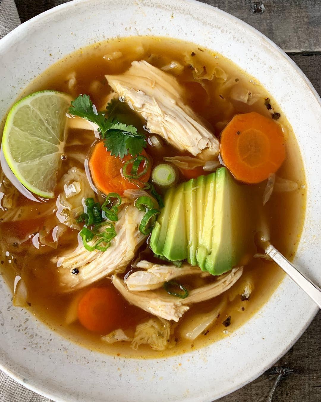 no crumbs left spicy chicken soup