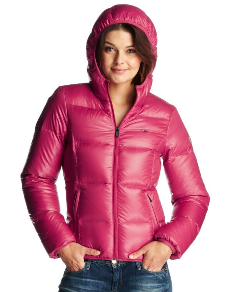 8af9c9fb7 Pink hooded Tommy Hilfiger down jacket | Kivoja vaatteita | Jackets ...