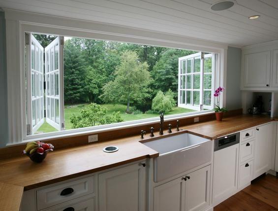 Modelos de ventanas modernas kitchen pinterest for Modelos cocinas integrales modernas