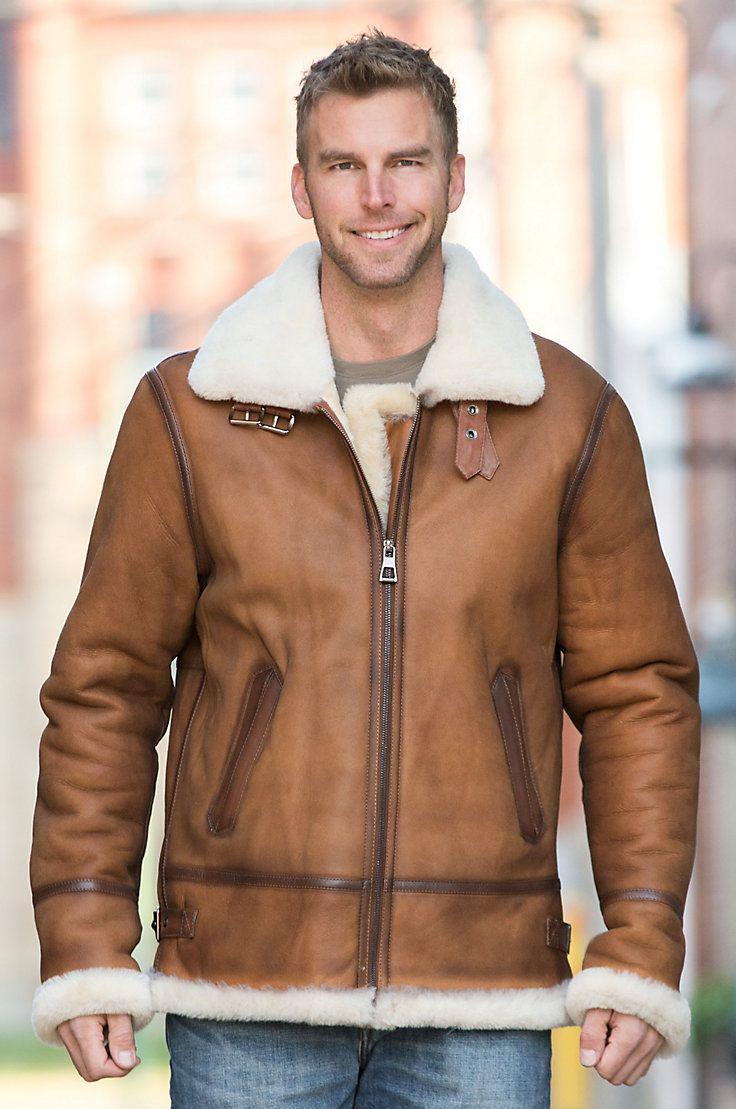 Jason Sheepskin B 3 Bomber Jacket Jackets Sheepskin Coat Sheepskin Jacket [ 1109 x 736 Pixel ]