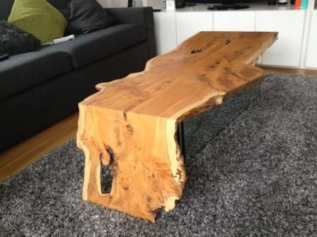 Yew Coffee Table Yew Wood Furniture Wood Slab Dining Table