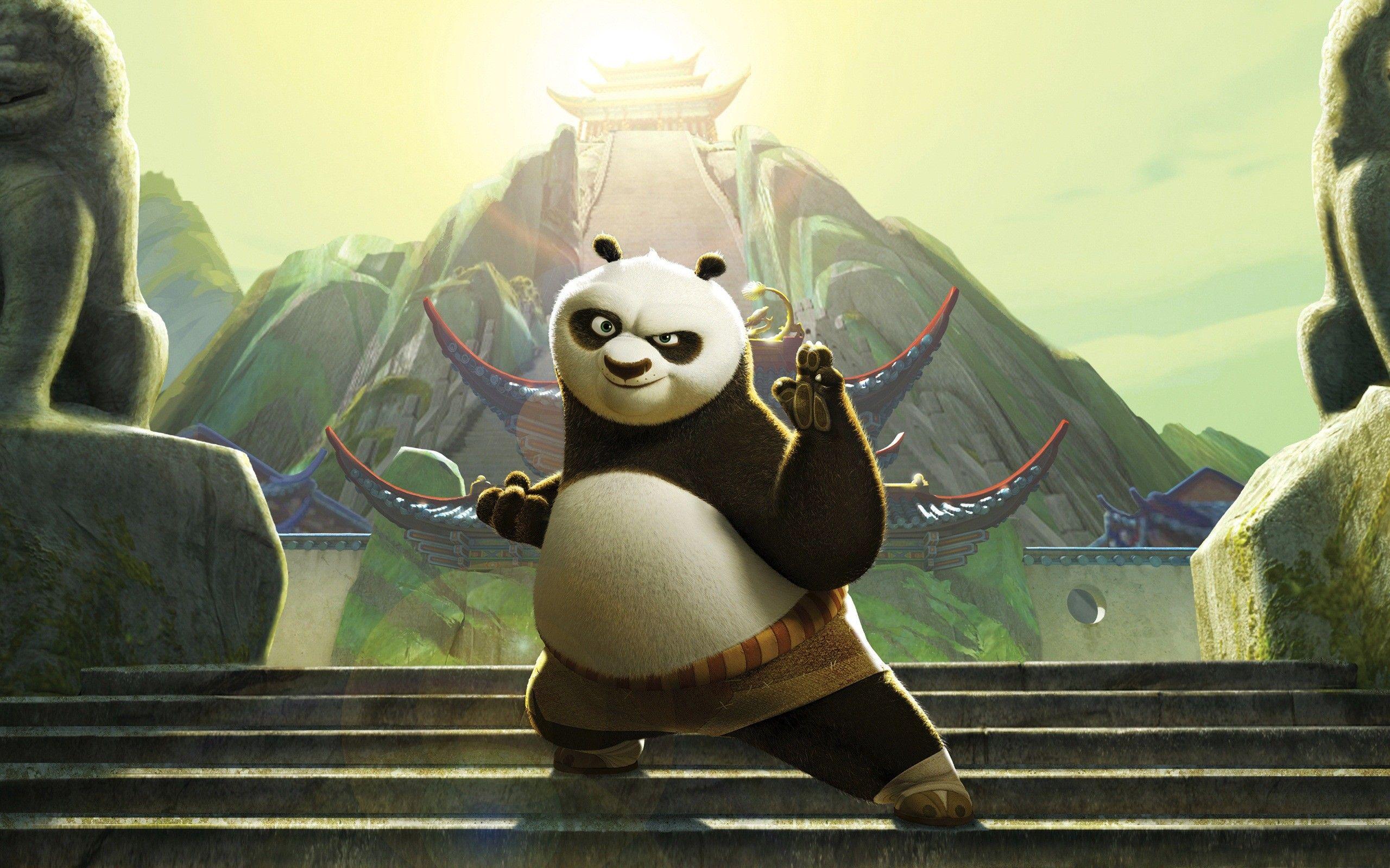 Animated Animal Hd Wallpapers Panda Wallpapers Kung Fu Panda