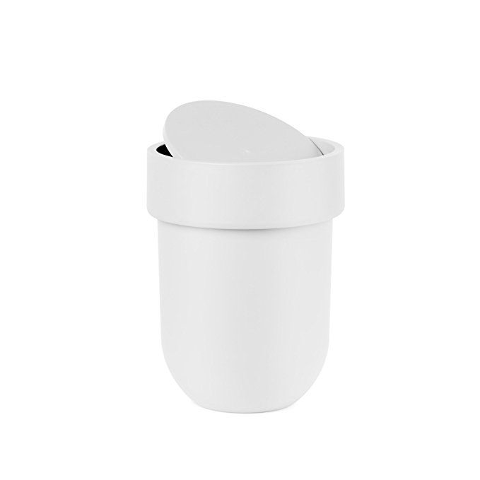 Small Garbage Pail Lid Interior Design Ideas