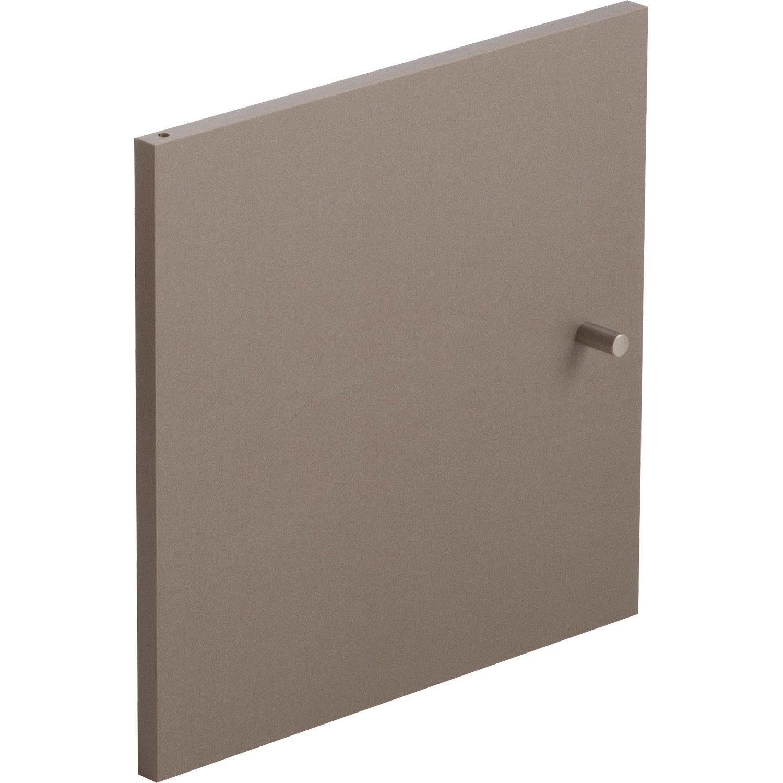 Porte Multikaz Taupe H 32 2 X L 32 2 X P 1 5 Cm Cube Rangement Rangement Et Deco Maison