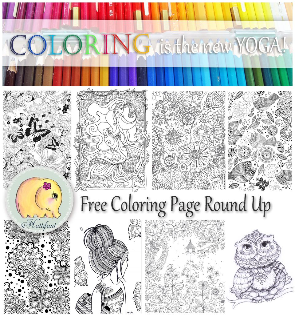 favorite Grown Up Coloring Pages