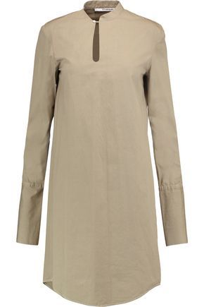 Chalayan Woman Asymmetric Cotton-poplin Midi Dress White Size 46 Hussein Chalayan MNJRW1VYDR