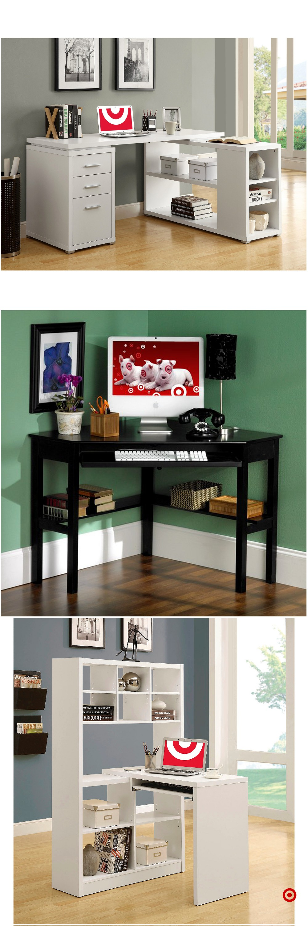 Shop Target For Corner Desk You Will Love At Great Low Prices Free Shipping On All Orders Or Free Same Day Pick Up In Stor Home Office Design Home Corner Desk