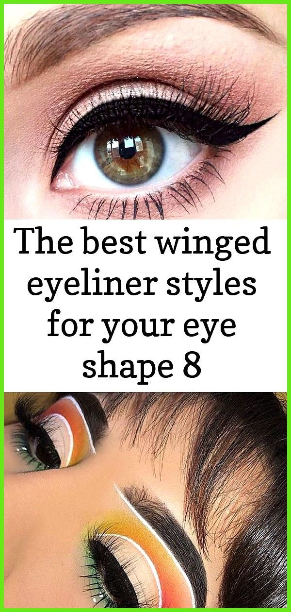 The best winged eyeliner styles for your eye shape 8 Winged Eyeliner Style for Round Eye Shape pict