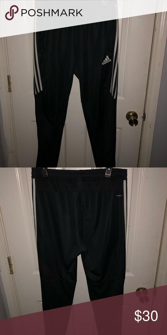 adidas pants half stripe womens